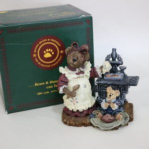 Boyds Bears Accents - Boyds Bear Resin Aunt Becky Cookie Quality Control
